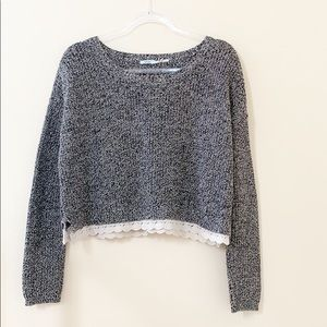 Urban Outfitters Kimchi Blue Slightly Cropped Top
